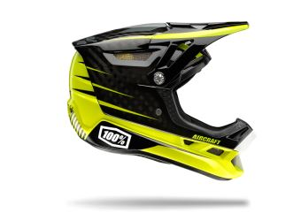 100% AIRCRAFT DH - Basetech (black/yellow)