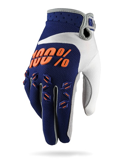 100% Airmatic Glove (navy)