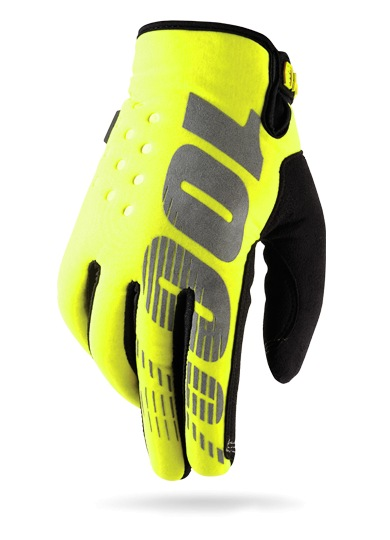 100% Brisker Glove (yellow)