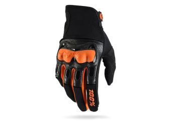 100% Derestricted Glove black/orange)