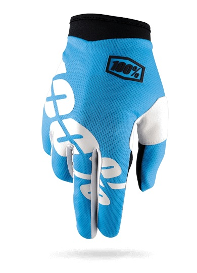 100% iTrack Glove (blue)