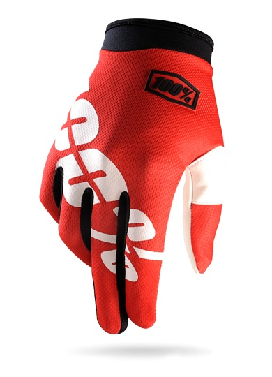 100% iTrack Glove (red)