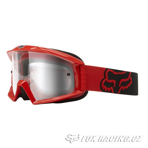 Fox Main Youth Bright Red Goggles