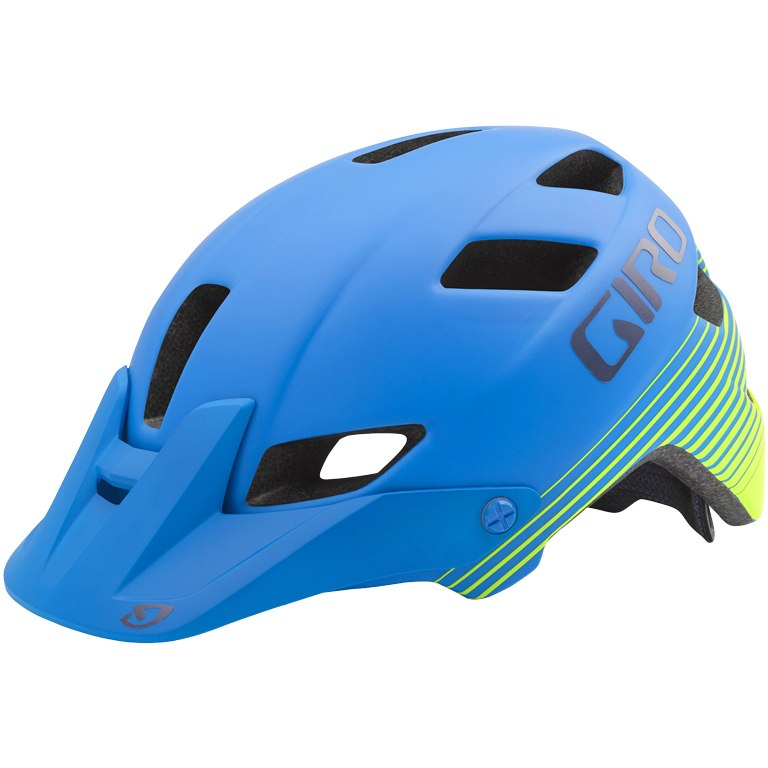 Giro Feature (blue/lime)