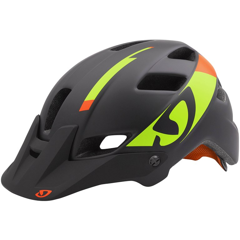 Giro Feature (black/lime/flame)