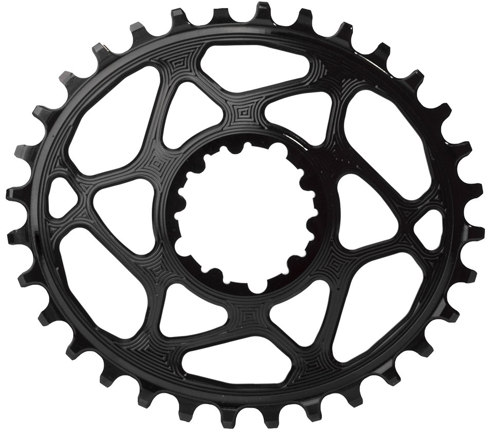 Absoluteblack Sram Oval Spiderless