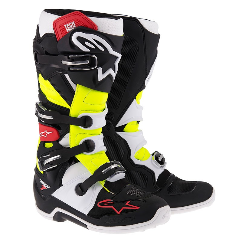 Alpinestars Tech 7 (black/red/yellow)
