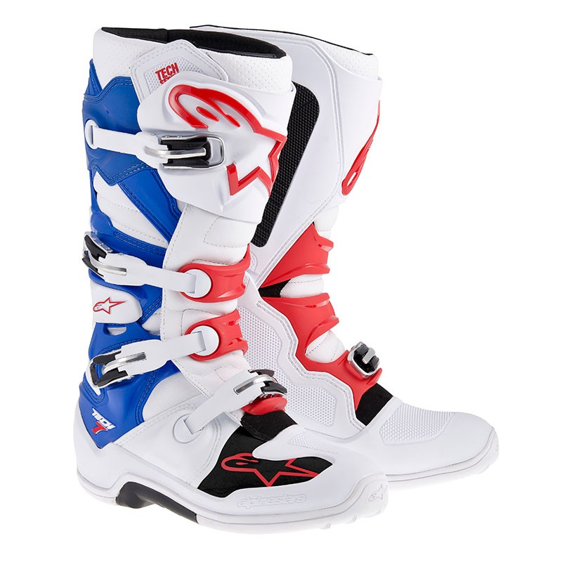 Alpinestars Tech 7 (white/red/blue)