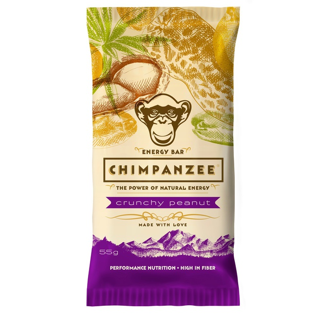 Chimpanzee Energy Bar (crunchy peanut)