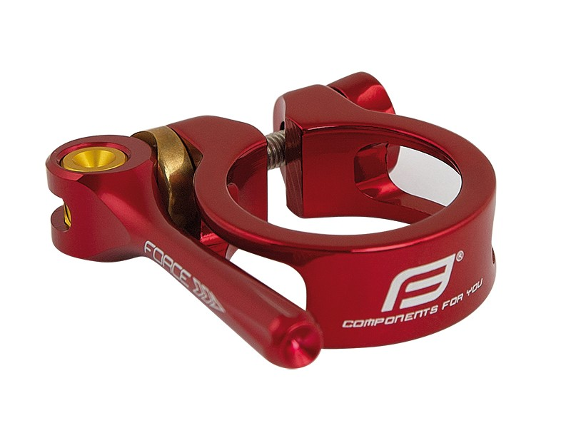 Force Lite Seat Clamp (red)