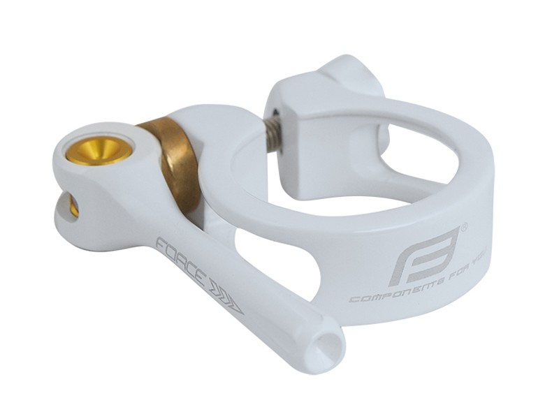 Force Lite Seat Clamp (white)