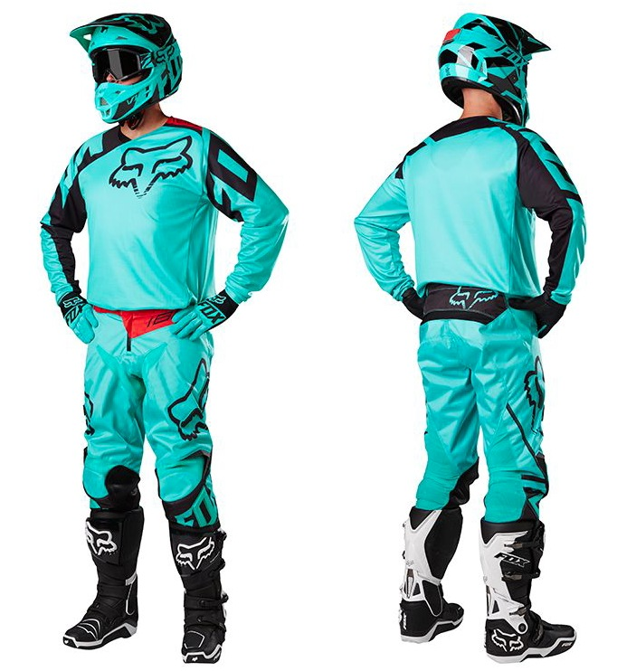 Fox 180 Race MX17 Gear Set (green)