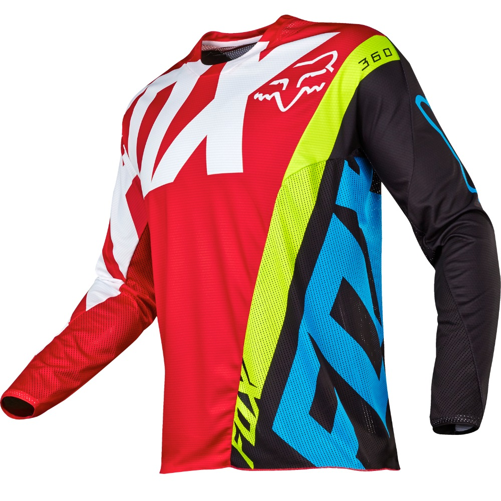 Fox 360 Creo MX17 Jersey (red)