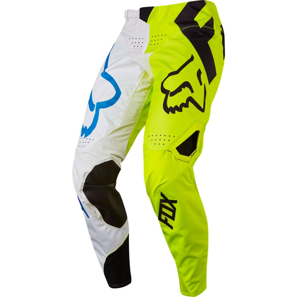 Fox 360 Creo MX17 Pant (white/yellow)