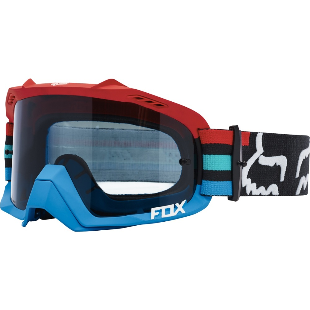 Fox Air Defence Seca MX17 Goggles (grey/red)