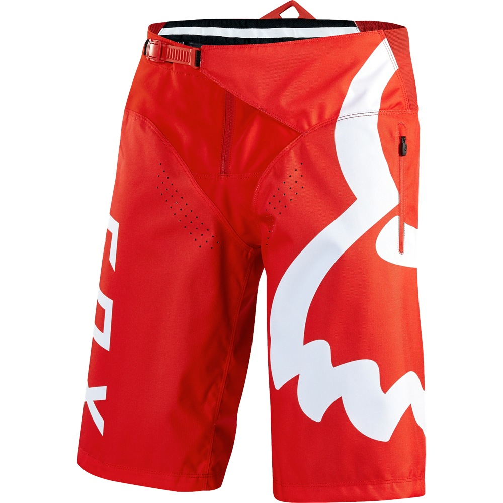 Fox Demo Short (red) 838cbeeb01
