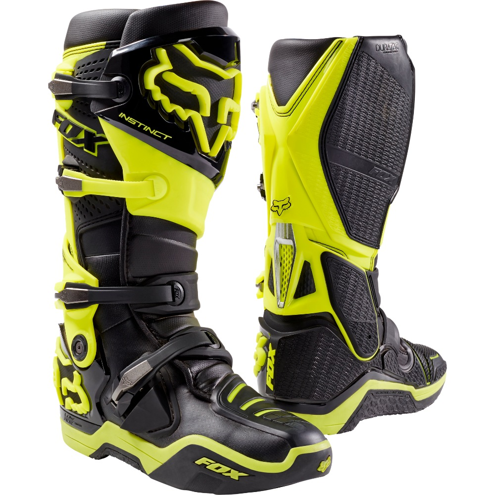 Fox Instinct Boot (black/yellow)