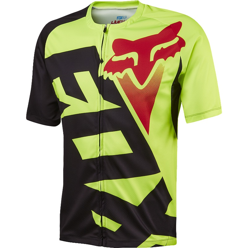Fox Livewire Jersey (fluo yellow)