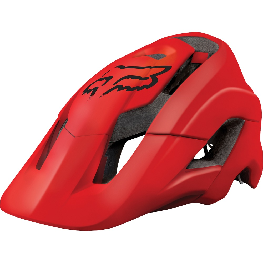 Fox Metah Solids Helmet (red)