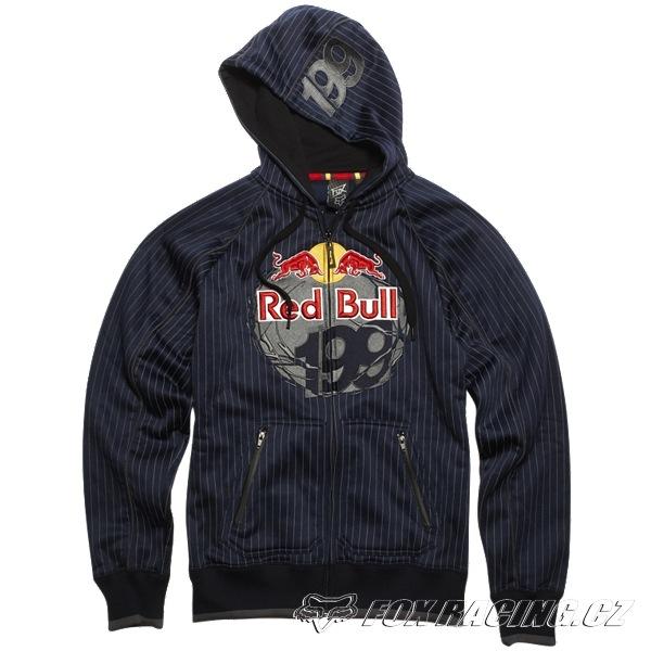 4795fc7932af Fox Red Bull TP199 Core Zip Front Fleece