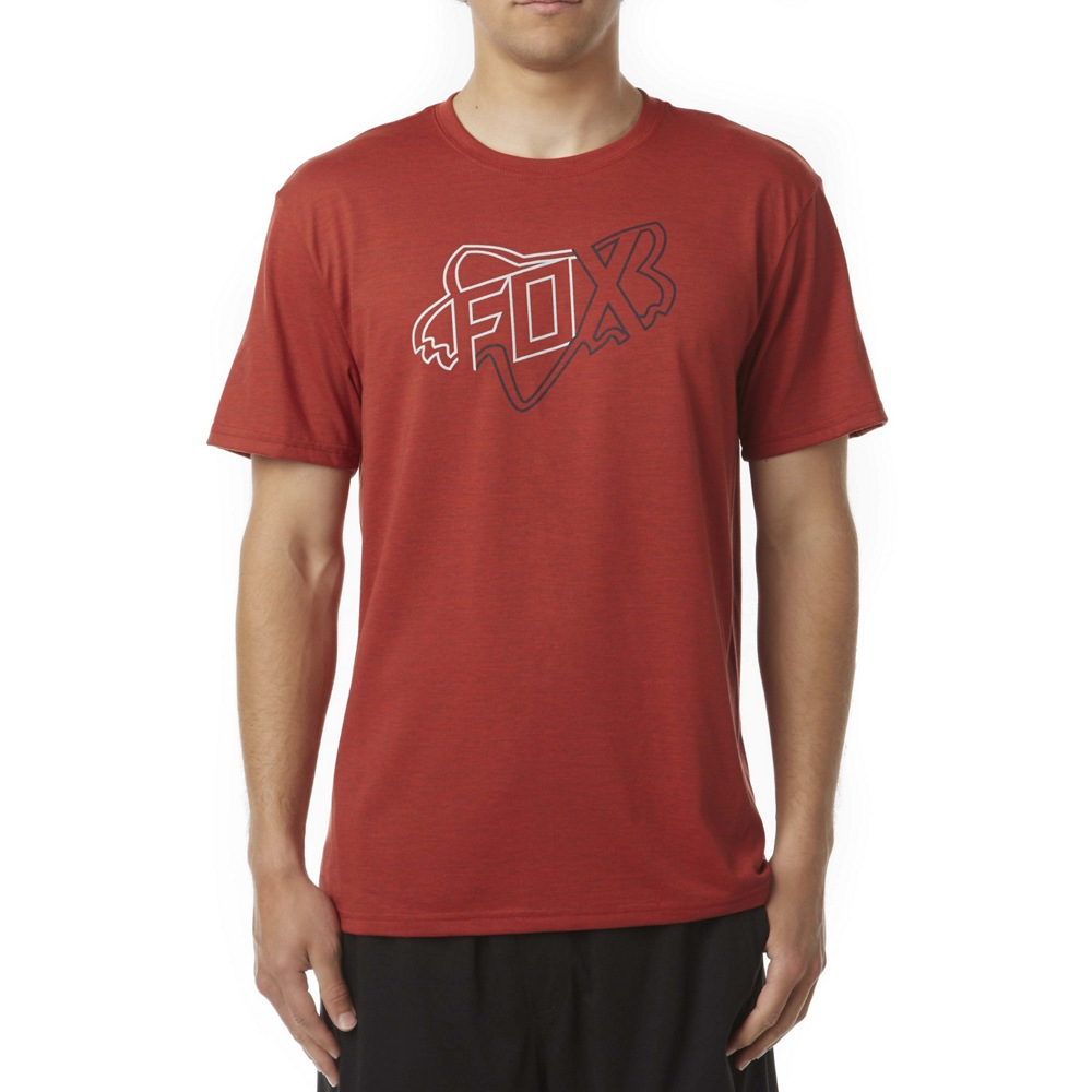 Fox Riders Crew Tech Tee (red)
