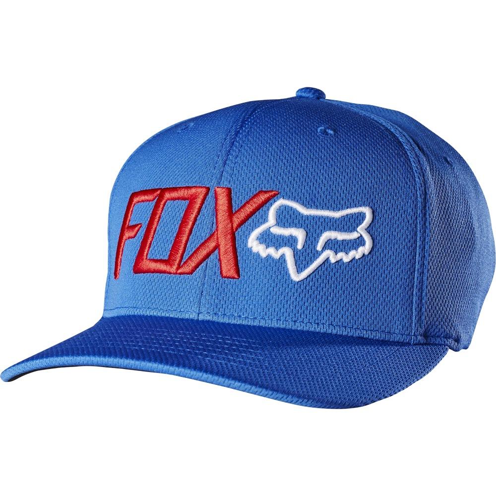 c10163ce867 Fox Trenches Flexfit Hat (blue)