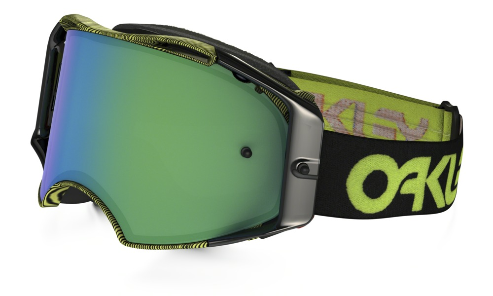 Oakley Airbrake MX Factory Thumbprint