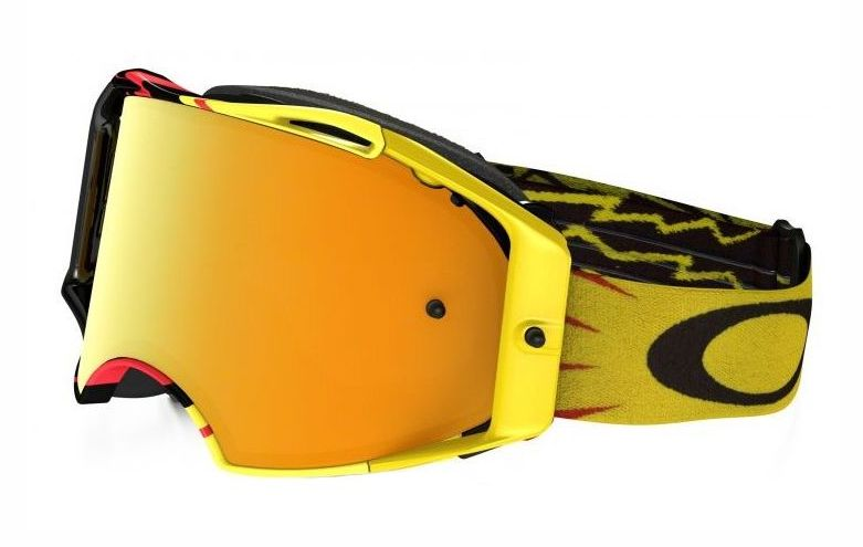 Oakley Airbrake MX High Voltage