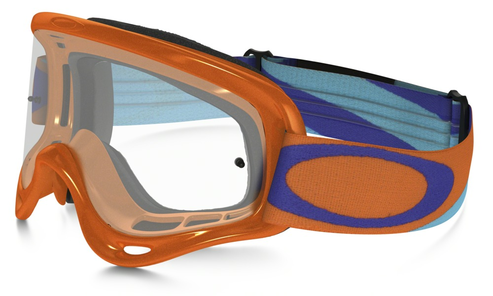 Oakley Oframe MX Heritage Racer Orange