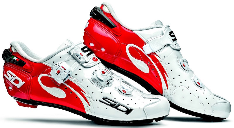 Sidi Wire Carbon Vernice (white/red)