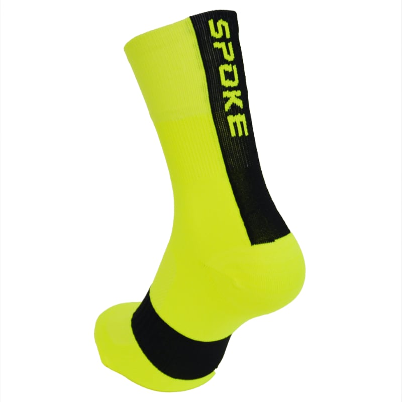 SPOKE Race Socks (fluo yellow)