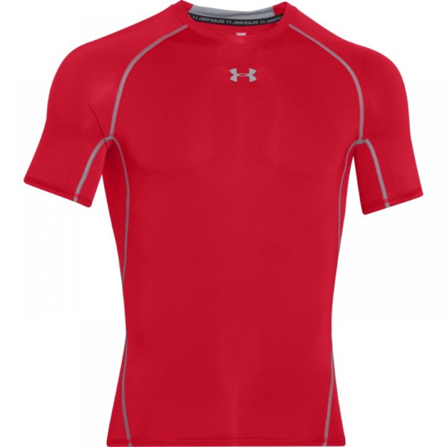 Under Armour HeatGear Compression Shirt (red)