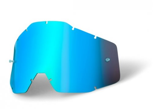 100% Anti Fog Lens Mirror Blue
