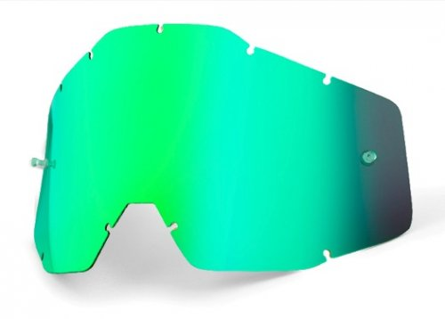 100% Anti Fog Lens Mirror Green