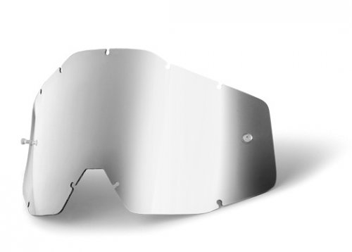 100% Anti Fog Lens Mirror Silver