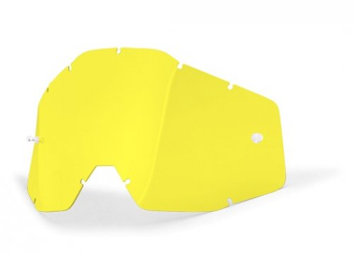 100% Anti Fog Lens Yellow