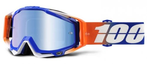 100% Racecraft Roxburry Blue Mirror