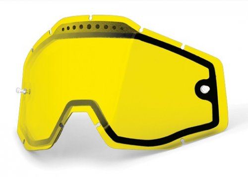 100% Vented Dual Lens Yellow