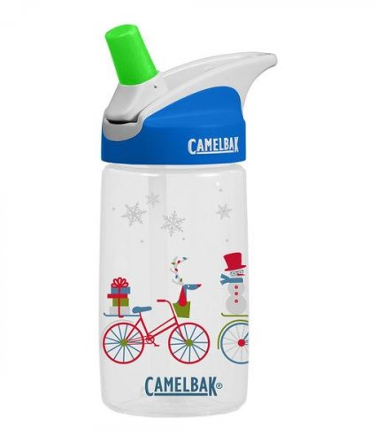 Camelbak Eddy Kids Bikes in Snow Bottle