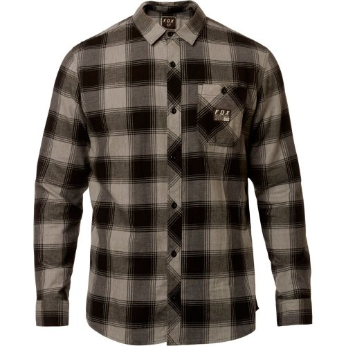 Fox Longview Ltwt Flannel