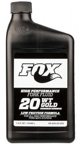 Fox Suspension Fluid 20WT Gold (1l)