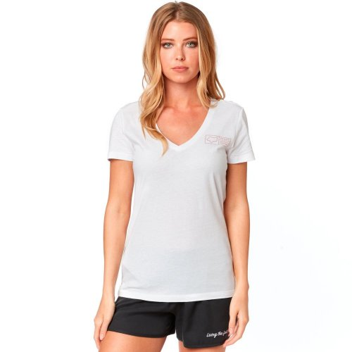 Fox Tracker  V Neck Tee