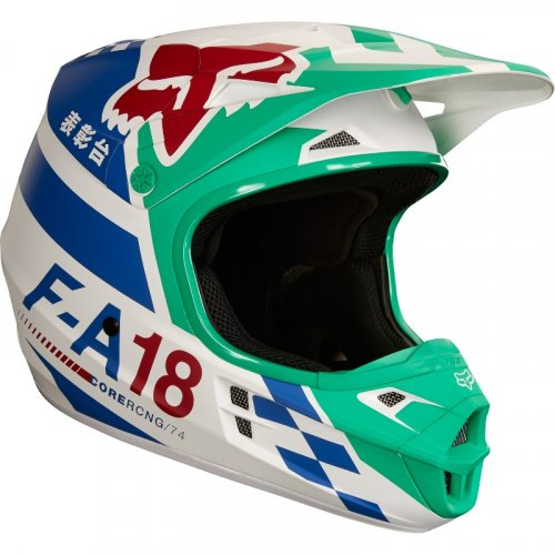 Fox V1 Sayak MX18 Helmet