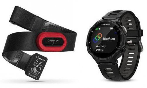 Garmin Forerunner 735XT Run Bundle Black