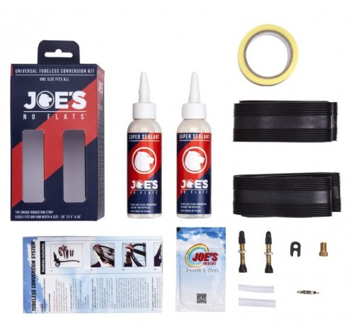 Joes Universal Super Tubeless Kit