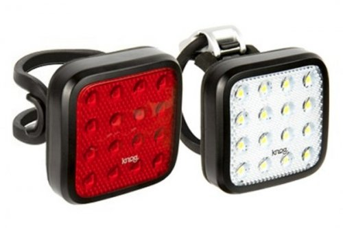 Knog Blinder Mob Kid Grid Twinpack